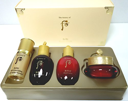 The history of Whoo Bichup Ja Saeng (Self-Generating) Special Gift Set (Total 4 items)