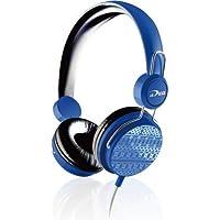 CheckOut Biostar iDEQ N20 Supraural 3.5mm Stereo Headset with Mic (Blue) dispense