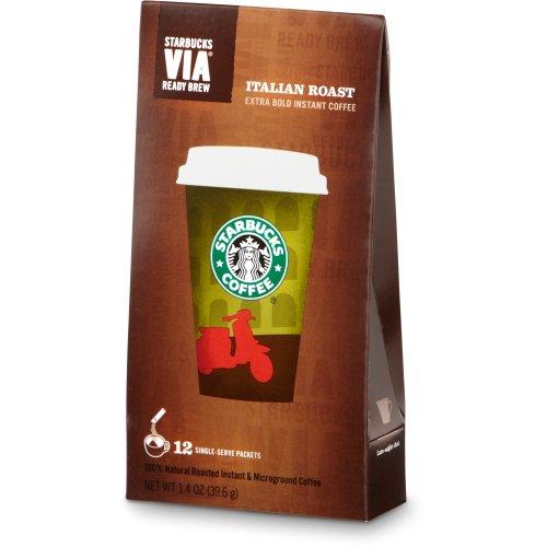 Starbucks VIA0174; Ready Brew Coffee (12 count)