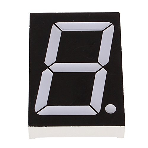 DN 2.3 inch 7 Segment a Common Cathode Digital LED (pack of (Common Cathode 7 Segment Led Display)