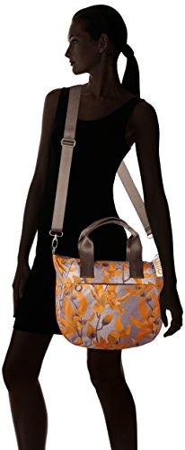 Oilily Groovy Handbag Mhz - Bolsos maletín Mujer Naranja (Orange)