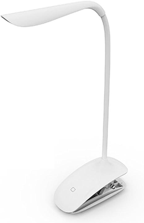 Tsing Lampada Da Tavolo A Led Clip On Con Flessibile Pinza Touch Sensitivo Ricaricabile Protezione Degli Occhi Amazon It Illuminazione