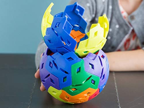 IKOS Spherical Construction Toys - PBS Kids - Kids Toys - STEAM Learning - Boys Toys and Girls Toys - Educational Toys - for Kids - Home School - Building Toys - 24 pc & Carrying Bag