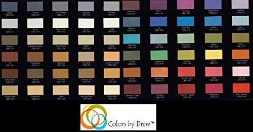 MOIRE WILD SILK ACRYLIC BASED DECORATIVE METALLIC PLASTER PAINT PRECOLORED ROLLER OR BRUSH APPLIED DECORATIVE FINISH THAT LOOKS FEELS LIKE SHIMMERING FINE SILK By Colors By Drew (GALLON) (CBDGAL) by MOIRE WILD SILK (Image #6)