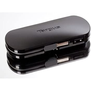 Amazon.com: Targus 4-Port Mobile USB Hub ACH111US (Black ...