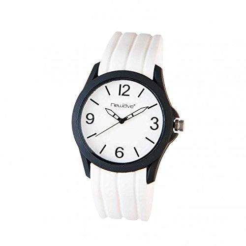 Reloj Analógica blanca nwh239b