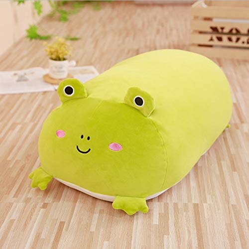 GOONEE Stuffed Animal Pillow - Animal Cartoon Pillow Cushion Cute Fat Dog Cat Penguin Pig Frog Plush Toy Lovely Kids Birthyday Gift - 10 Inch Frog - Korean Oversized Unicorn Gray Super Soft