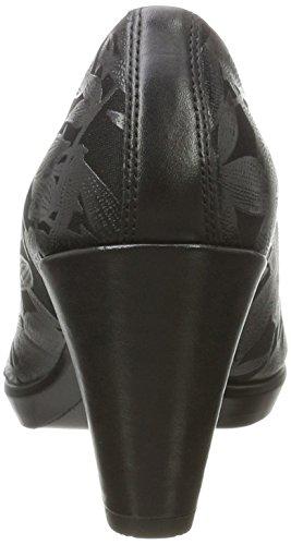 Ecco Damen Shape 55 Plateau Slipper Schwarz (Black-Black/Black)