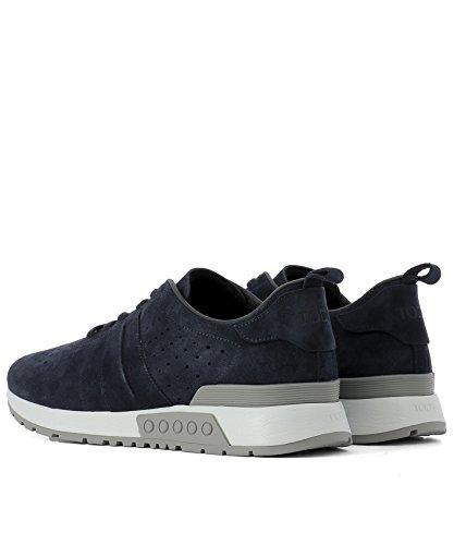 Tod's Sneakers Uomo XXM15A0S640RE0U820 Camoscio Blu