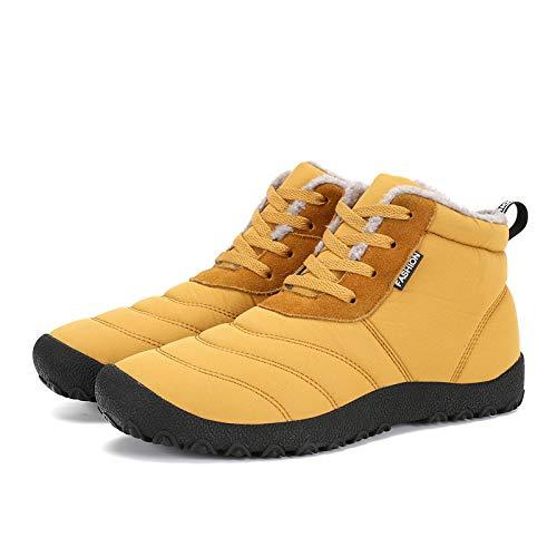 FHCGMX Super warme Männer Winterstiefel für Männer warme Wasserdichte Regen Stiefel Schuhe Herren Knöchel Schnee