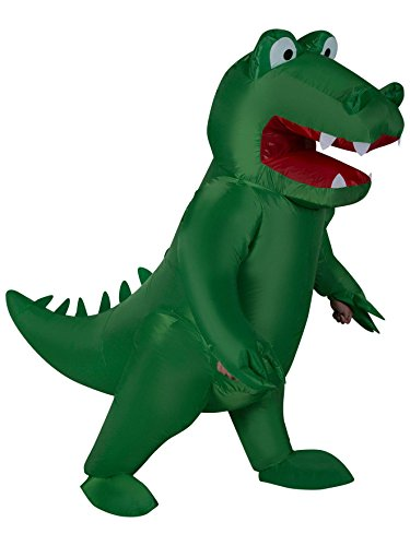 Inflatable Alligator Adult Costume]()