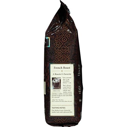 Peet's Coffee, Peetnik Pack, French Roast, Dark Roast, Whole Bean Coffee, 20 oz. Bag, Bold, Intense, & Complex Dark Roast Blend of Latin American Coffees, with A Smoky Flavor & Pleasant Bite by Peet's Coffee (Image #5)