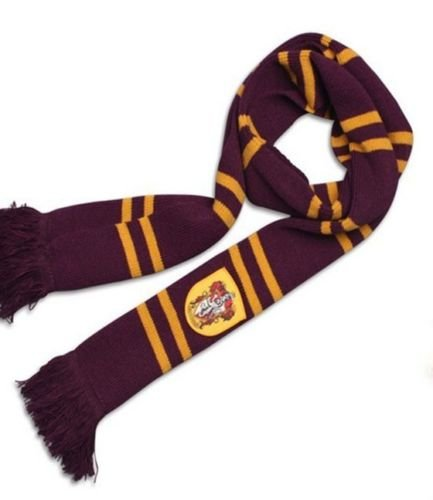 Harry Potter Gryffindor Thicken Wool Knit Scarf Wrap Warm Costume Xmas - Face Kors Gold Blue Michael With