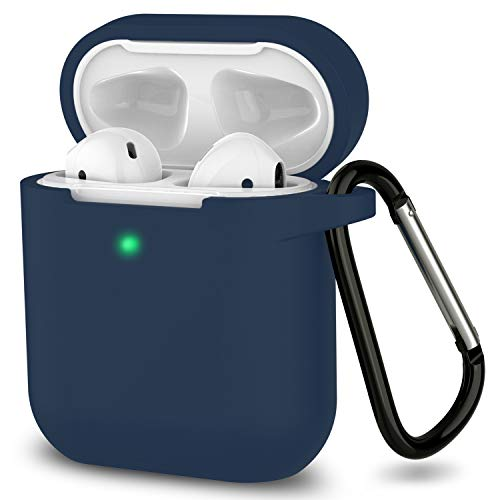 AirPods Case, Full Protective Silicone AirPods Accessories Cover Compatible with Apple AirPods 1&2 Wireless and Wired…