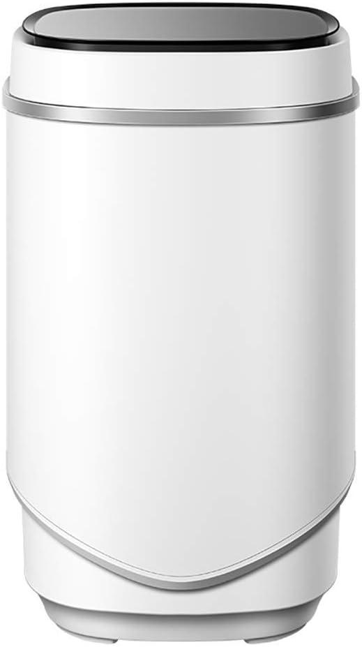 LLAMN Lavadoras Compacto Mini Lavadora, Violeta antibacterianos, 4 kg de Capacidad, Apartamentos, residencias