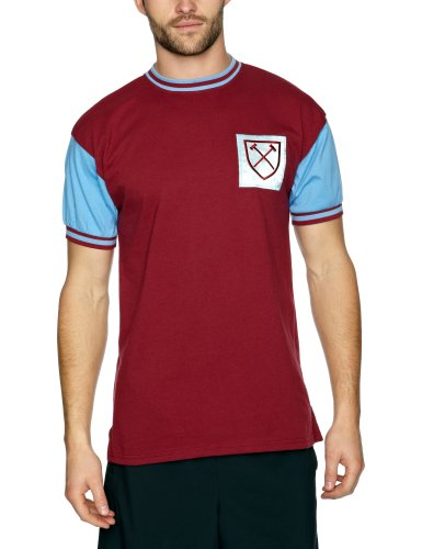 86b90a488cf West Ham United 1966 No6 Retro Football Shirt  Amazon.co.uk  Sports    Outdoors