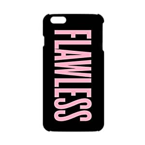 Cool-benz Pink Flawless motto 3D Phone Case for iPhone 6 plus