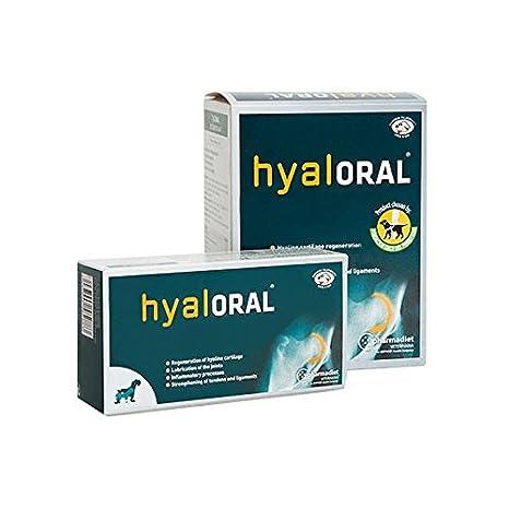 Farmadiet Hyaloral Razas Pequenas y Medias Blísters con 90 Comprimidos: Amazon.es: Productos para mascotas