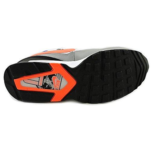 Nike Herren Air Max St Knöchelhoher Laufschuh aus Leder Weiß / Grau / Orange / Blau