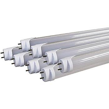 8x Orilis 24w Led T8 Tubes Smd2835 120pcs Color 6