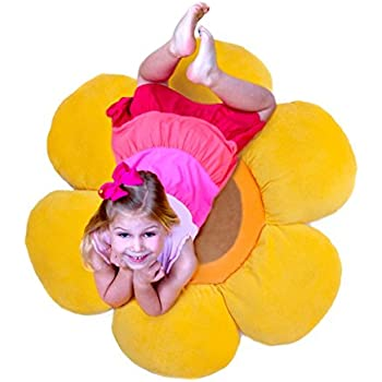 Amazon.com: Floor Bloom Soft and Cozy Sun Floor Pillow for Kids ...