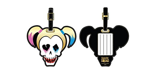 Suicide Squad Harley Quinn PU Luggage Tag]()