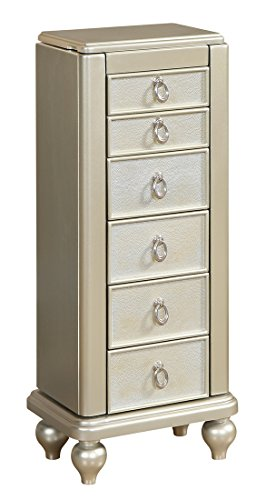 Coast to Coast Jewelry Armoire 7 Drawer (Seven Drawer Chest)