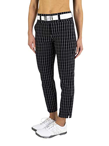 Jofit Slimmer Cropped Pant- Twill Check-XL