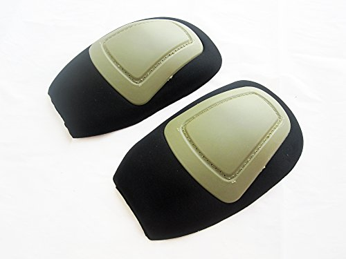 DLP Tactical Hardshell Knee Pads for G3 Combat Pants (Crye Airflex Compatible) -