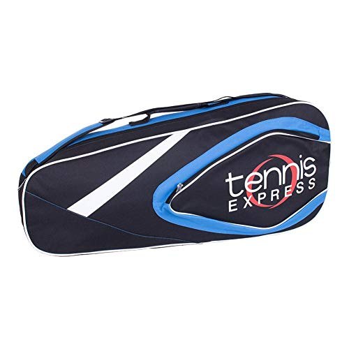 Tennis Express 3 Pack Tennis Bag Black and Blue Value Buy
