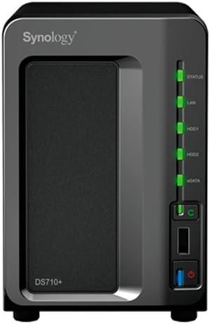 Synology DS710+ Servidor de Almacenamiento - Unidad Raid (0 GB ...