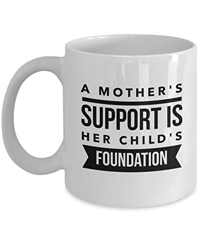Cheval Mirror Childs (A Mother'S Support Is Her Child'S Foundation, 11Oz Coffee Mug Best Inspirational Gifts and Sarcasm Perfect Birthday Gifts for Men or Women/Birthday)
