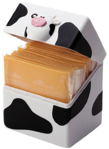 Cheese Keeper (Joie Moo-Moo Cow Cheese Slice Holder Pod)