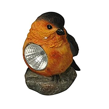 Kingfisher Solar Powered Garden Bird Light Ornament