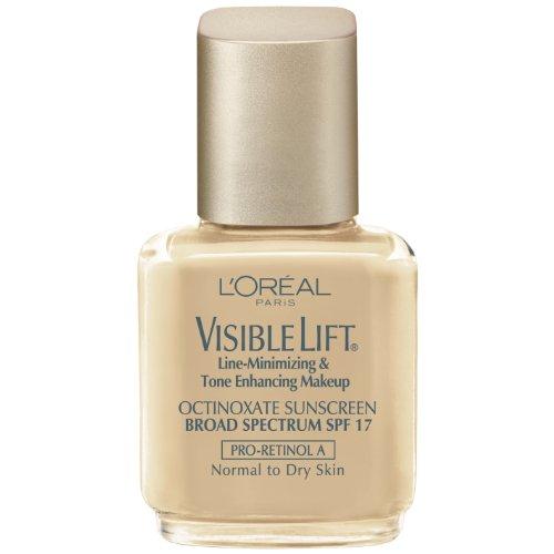 L'Oréal Paris Visible Lift Ligne de minimisation et de la tonalité d'amélioration de maquillage, la peau normale / sec, Sun Beige, Once 1,25 Fluid