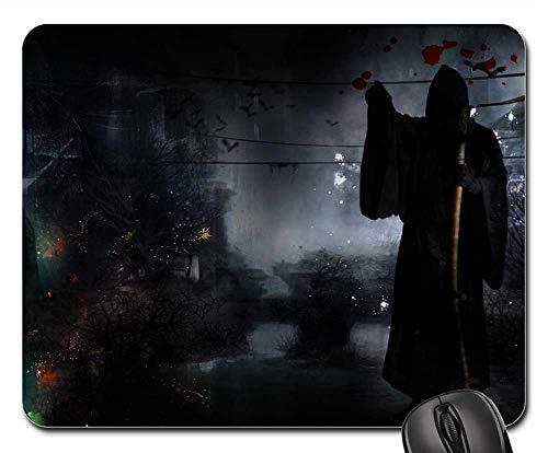 Mouse Pads - Death Dark Black Horror Raven