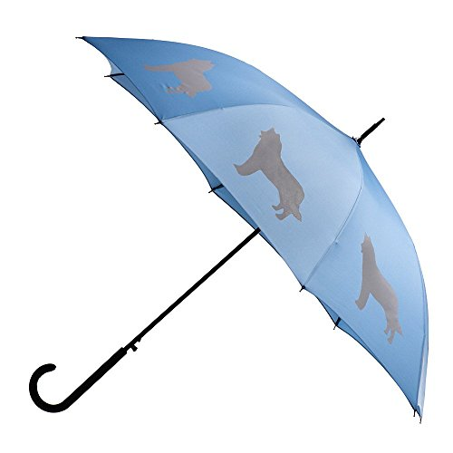 Cheap  Premium Rain Umbrella With Siberian Husky Design- By San Francisco Umbrella Co.