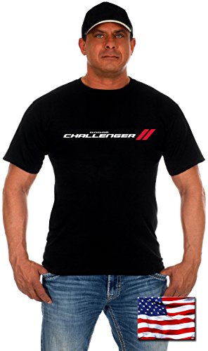 mens-dodge-challenger-t-shirt-with-exclusive-american-flag-sticker-x-large-black