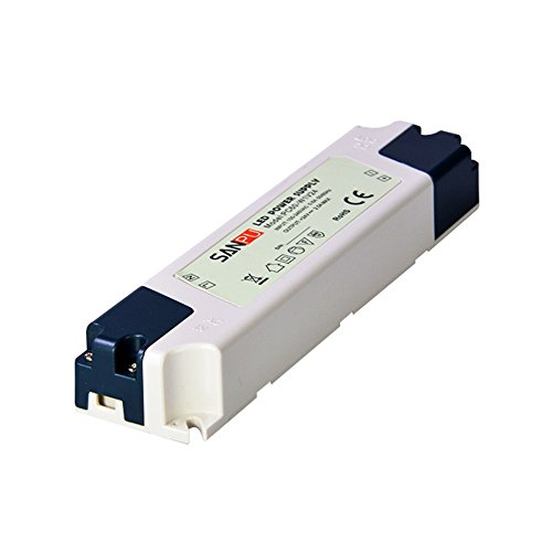SMPS LED Driver 24v 60w 2a Constant Voltage Switching Power Supply for LEDs IP44 110v 220v ac to dc Lighting Transformer (SANPU PC60-W1V24) ()
