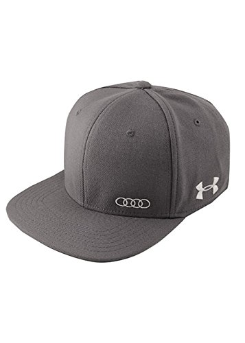 Audi Collection Gray Under Armour Flat Bill Cap ACM4488