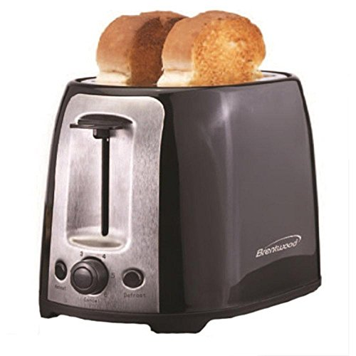 Brentwood 2 Slice Cool Touch Toaster ; Red and Stainless ...