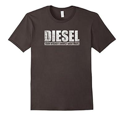 Mens Funny Diesel Truck T-Shirt, New Design From Bold Diesel
