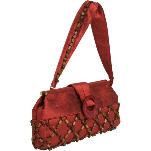 Inge Christopher Evening Bag (Inge Christopher Persimmon Havana Large Clutch)