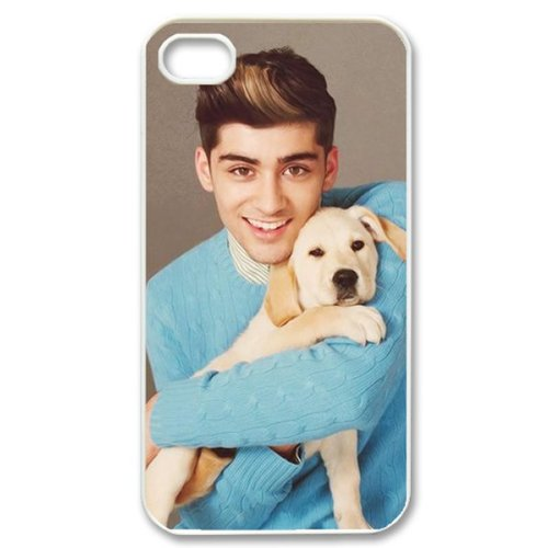 CTSLR Music & Singer Series Protective Hard Case Cover for iPhone 4 & 4S - 1 Pack - One Direction - Zayn Malik 1