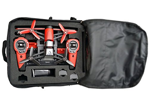 Price comparison product image Backpack for Parrot Bebop Compatible with Sky Controller and Propguards (Black)