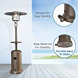 hOmeLabs Gas Patio Heater - 87 Inches Tall