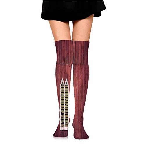 thin Silk socks Shutters,Classical Wooden House,socks for men size -