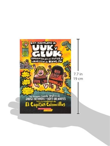 Las Aventuras De Uuk Y Gluk (The Adventures Of Ook And Gluk) (Turtleback School & Library Binding Edition) (Spanish Edition) by Brand: Turtleback