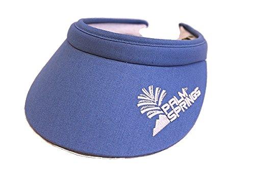 Palm Springs Golf Lady Soft Clip Visors (Blue)