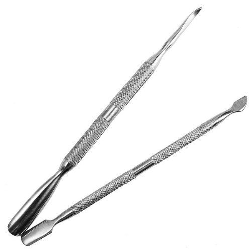 2pcs Nail Art Stainless Steel Pusher Remover Tool So beauty